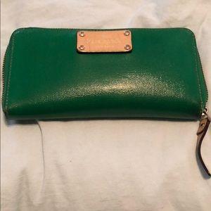 Kelly Green Kate Spade Wallet